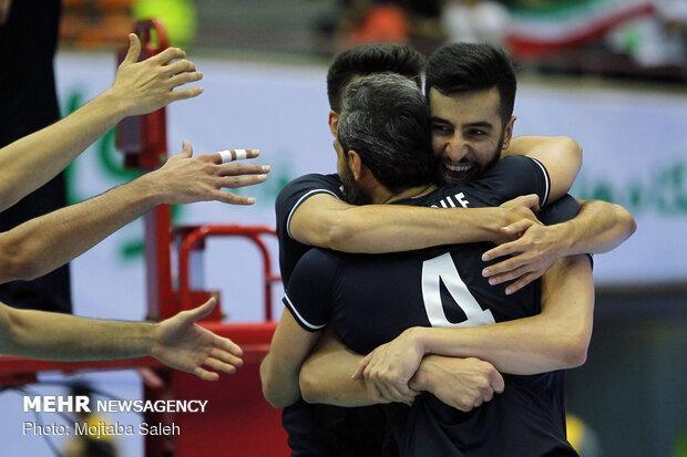 ایران 3 - چین صفر، پیروزی بی دردسر تیم ملی والیبال در مرحله دوم