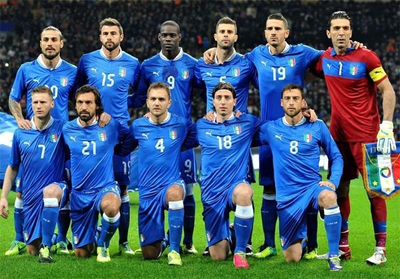 23 مسافر ایتالیایی جام جهانی تعیین شدند