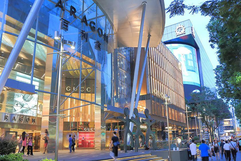 مراکز خرید سنگاپور؛ از ایون اورچارد تا بوگریس جانکشن