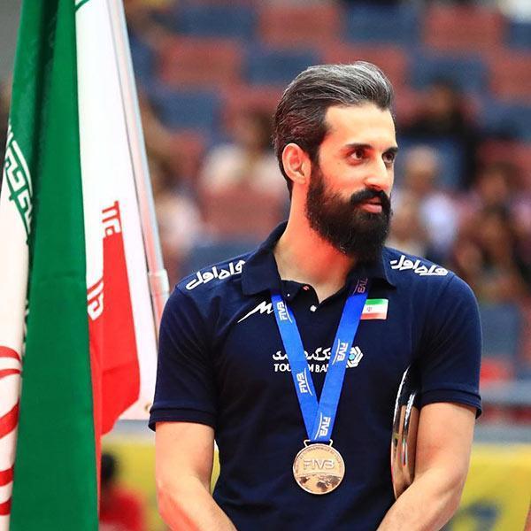 بیوگرافی سعید معروف، کاپیتان تیم ملی والیبال