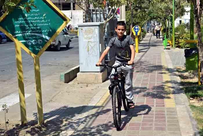 ایجاد جهت دوچرخه در معابر نبرد، افسریه و خاوران
