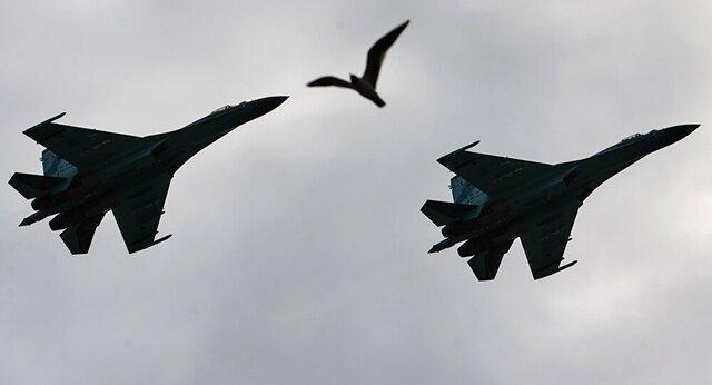 جنگنده های روسیه 3 بمب افکن آمریکایی را رهگیری کردند