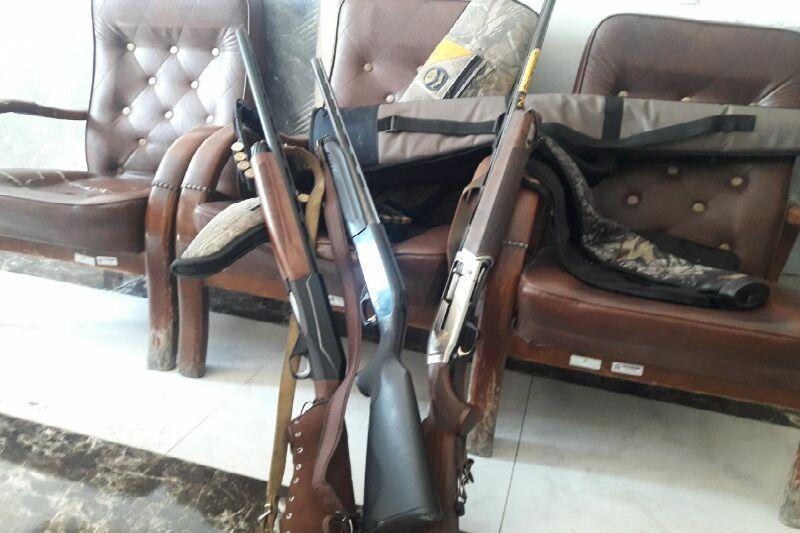 خبرنگاران 3 شکارچی متخلف در شاهین دژ دستگیر شدند