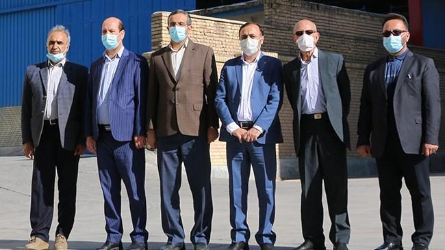 مسئولان چهارمحال و بختیاری از واحدهای صادراتی استان بازدید کردند