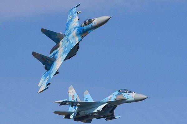 جنگنده روسیه هواپیمای جاسوسی آمریکا را رهگیری کرد