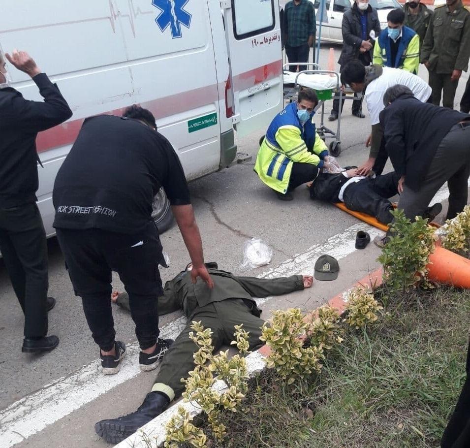 دستگیری راننده متخلف به جرم ضرب و شتم دو پلیس راهور در سیمرغ