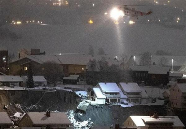 رانش زمین در نروژ ، 11 نفر ناپدید و 10 نفر زخمی