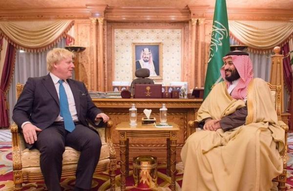 فشارها بر جانسون برای توقف حمایت از عربستان در جنگ یمن