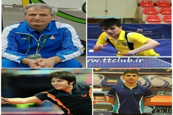 حضور چهار کردستانی در اردوی تیم ملی تنیس روی میز بزرگسالان کشور