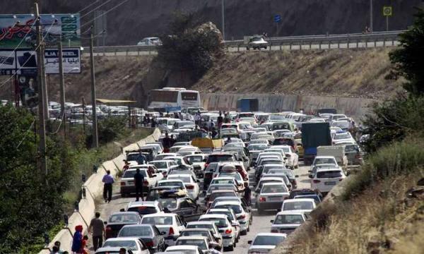 ترافیک سنگین در راستا های منتهی به شمال