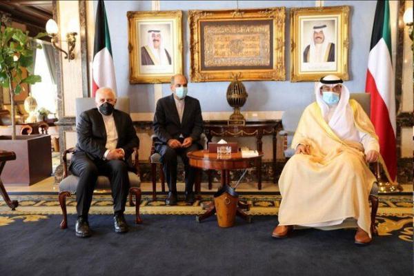 محور رایزنی ظریف و نخست وزیر کویت