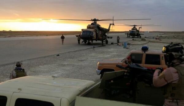 مرحله جدید از حمله به پایگاه نظامیان آمریکایی در عراق، آماده باش در پایگاه عین الاسد