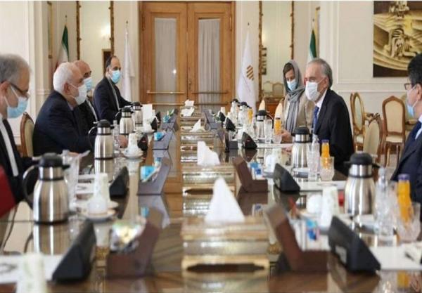 تأکید ظریف بر حمایت ایران از انجام گفتگوهای بین الافغانی