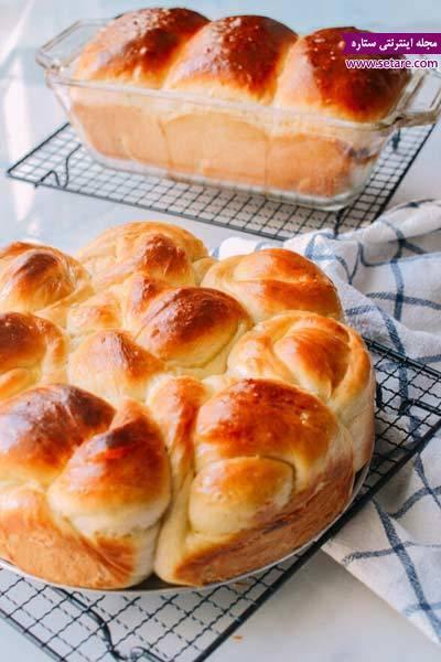 دستور پخت نان شیرمال خانگی خوشمزه