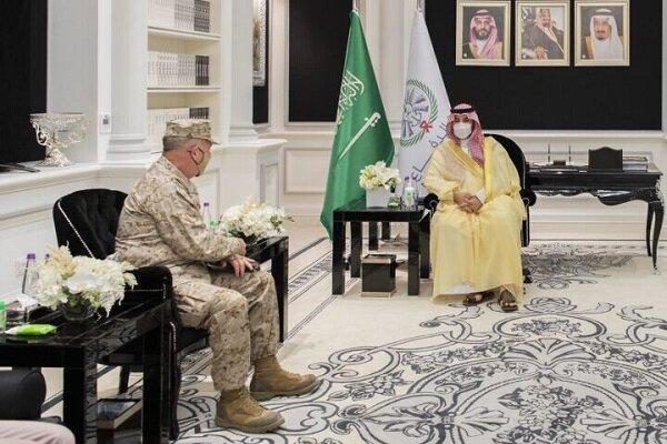 رایزنی مکنزی با معاون وزیر دفاع سعودی