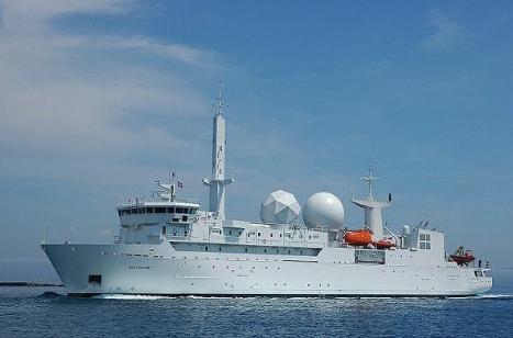 روسیه: ناو جاسوسی فرانسه را در تنگه تاتار زیر نظر داریم