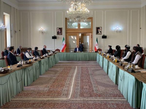 گزارش توئیتری ظریف از نتایج گفتگوهای امروز بین الافغانی در تهران