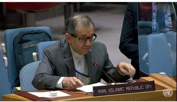 نامه مهم تخت روانچی به شورای امنیت در پاسخ به اتهامات آمریکا علیه ایران