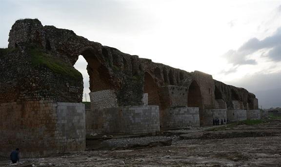 شروع بازسازی پل تاریخی کشکان