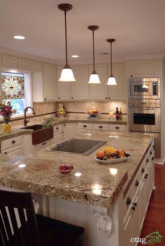 36 مدل کابینت سفید و چوبی آشپزخانه مدرن [در سال تازه]