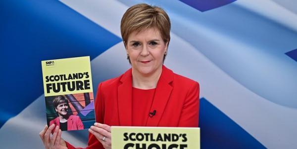 گام مجدد اسکاتلند برای جدایی از انگلیس با برگزاری همه پرسی